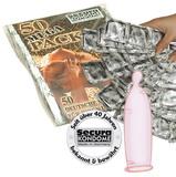 Sada kondomů Secura Gold (50 ks)