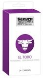 Kondomy Secura El Toro (24 ks)