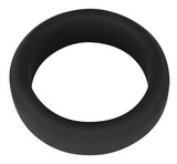 Černý erekční kroužek 3,8 cm