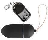 Vibrační vajíčko Black & Silky na dálkové ovládání