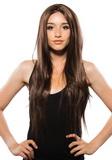 Paruka Heat bruneta