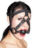 Maska s roubíkem