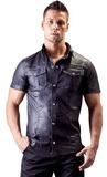 Pánské tričko z umělé kůže