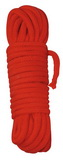 Bondážní lano - 7 m červené