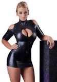Sexy šaty s výkrojem na ramenou