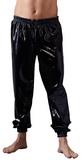 Lesklé latexové kalhoty