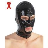 Černá latexová maska