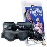 Masters Restraint Kit - 9-dílná bondage souprava