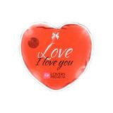 LoversPremium - hřejivé masážní srdíčko Love