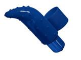 Vibrátor Frisky Finger (modrý)