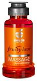 Masážní olej Fruity Love meruňka / pomeranč (100 ml)