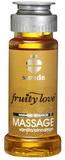 Masážní olej Fruity Love vanilka / skořice (50 ml)