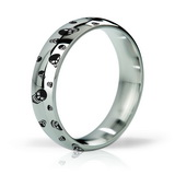 Mystim His Ringness Earl Polished and Engraved 51mm