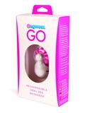 Sqweel Go - stimulátor lízání na cesty - bílý