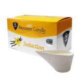 Safe - masážní svíčka Seduction Vanilla (100 g)