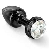 Vibrační anální kolík Diogol Annixitting Black 34 mm