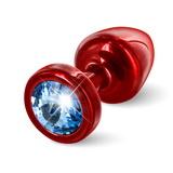 Anální kolík Diogol Anni T1 červený 25 mm