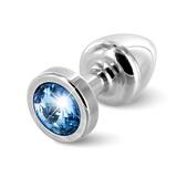 Anální kolík Diogol Anni T1 stříbrný 25 mm