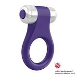 Ovo - B1 Erekční kroužek fialový chrom