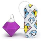 Tokidoki - Silikonový vibrátor Purple Diamond