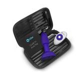 Anální vibrační kolík b-Vibe Rimming Petite Purple