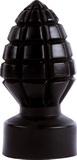 Anální kolík All Black - 14 cm