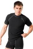 Pánské tričko gWinner Classic V černé