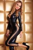 Erotický kostým 7-Heaven Sheila černý
