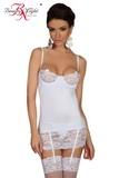Erotická košilka Shirley bílá