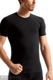 Bezešvé tričko Brubeck SS00990 černé