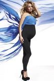 Těhotenské legíny BasBleu Anabel černé