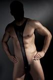 Pánske body Anais Derrick černé