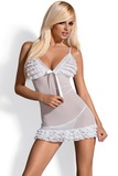Dámská košilka Obsessive Madame bílá