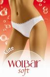 Dámské kalhotky Wolbar Cute bílé