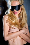 Erotická maska 7-Heaven A7799 černá