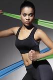 Fitness top BasBleu Teamtop 30 černý