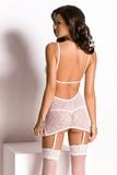 Erotická košilka Anais Vittoria bílá