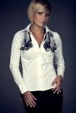 Dámská košile Figl M021 bílá