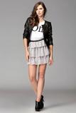 Dámská sukně Figl M093 šedá