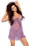 Erotická košilka Axami V-5029 VIOLET fialová