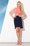 Dámská sukně Figl M272 granátová