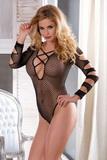 Erotické body Alexis SLH-10511 černé