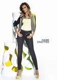 Dámské kalhoty BasBleu Avril černé