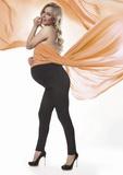 Těhotenské legíny BasBleu Stefanie černé