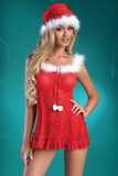 Vánoční kostým LivCo Corsetti Christmas Bell