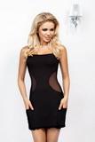 Erotické šaty DKaren Olga černé