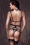 Erotická souprava Anais Sapphira černá