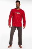 Pánské pyžamo Cornette 12460 Origin 2 červené