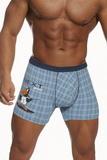 Pánské boxerky Cornette Tattoo 280112 modré