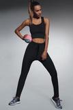 Fitness legíny BasBleu Lorena černé